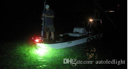 8W pesca Attirare Attrezzature LED verde subacquea calamaro luce di pesca di richiamo di sommergibile della barca Luce Notte Attrezzatura di pesca