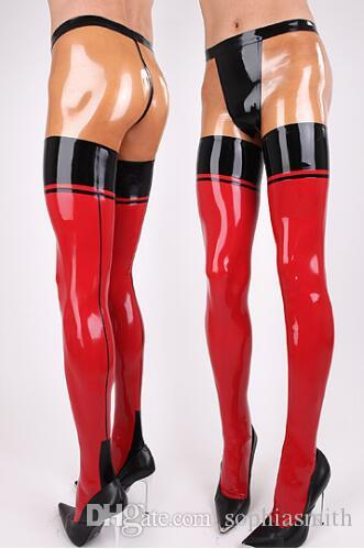 ls18100 pure rubber latex leggings mix color pantyhose latex panties stitching line latex. Black Bedroom Furniture Sets. Home Design Ideas