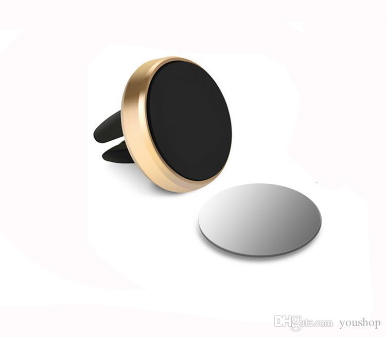 Universal 360 rotierenden Autohalterung Magnethalter Ständer für Handy für Xiaomi Redmi 3 für iPhone 7 7 Plus 6 6S Plus
