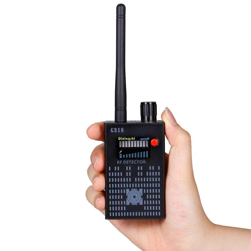 G318 handheld detektor Drahtlose RF signal detektor CDMA signal Detektor hohe empfindlichkeit erkennen Kamera objektiv / GPS locator Device Finder
