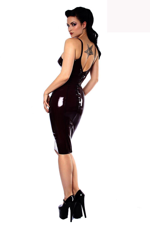 Black Leather Look Jumpsuit Dress Sexy Bodysuit for Women PVC Erotic Leotard Costumes Plus Size Dress Club Wear Bodycon Skinny Lingerie