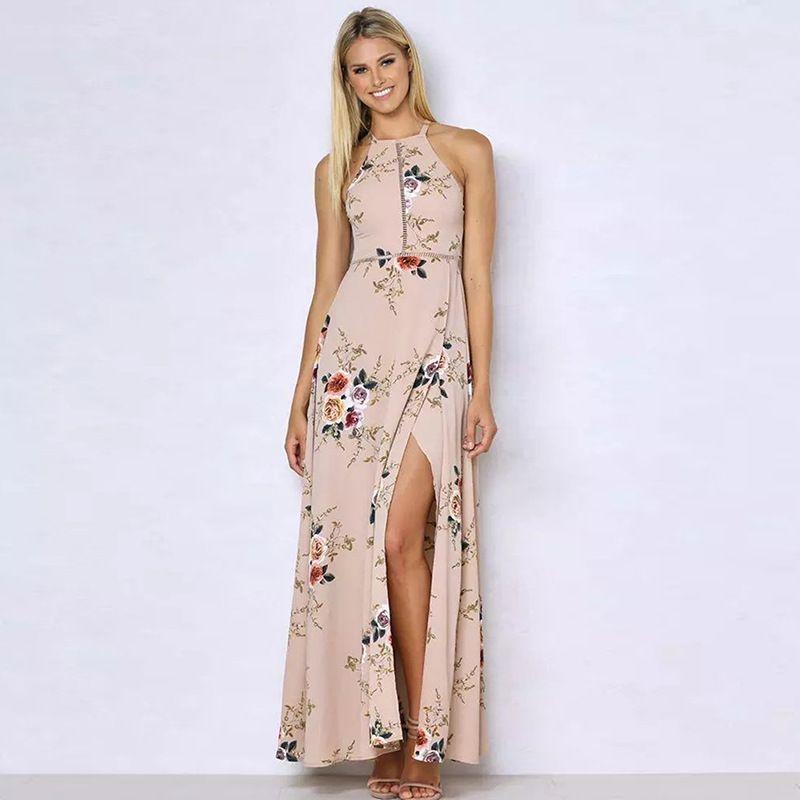 1c63fcf936b Beach Dress Sexy Plus Size Clothing Retro Flower Sleeveless Hollow ...