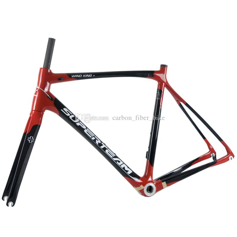Superteam 700c Carbon Frame Road Bike Frame 47 /50 /53 /56 /59 Cm ...