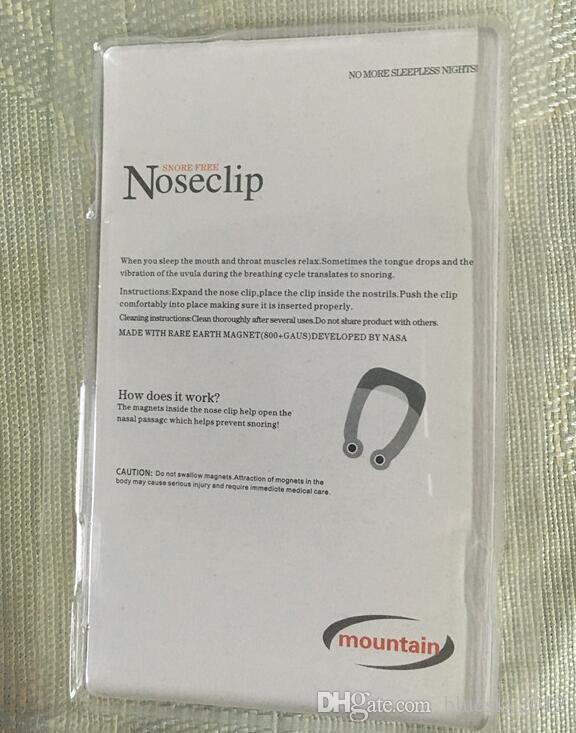 2017 Snore Free Nose Clip No More Sleeping Nights in Silicone senza sonno