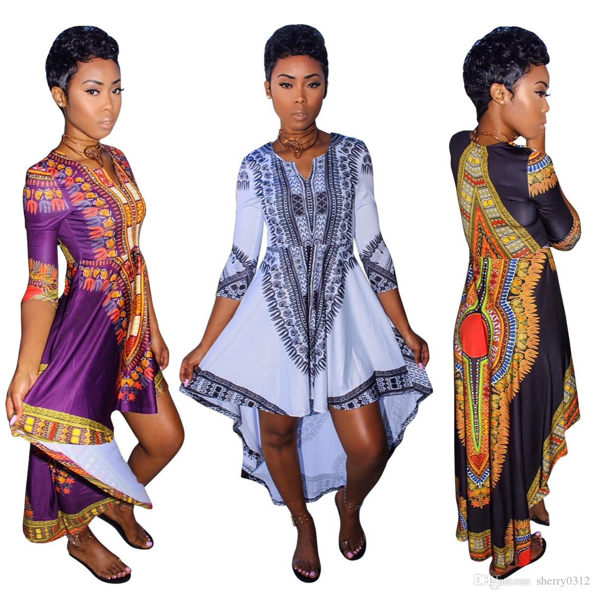 african clothes for women o neck africa bazin dress