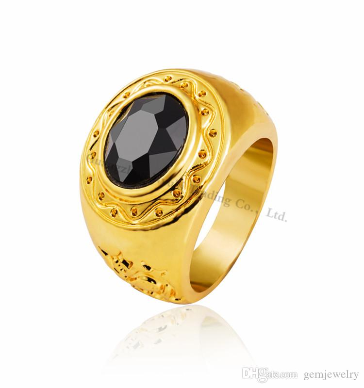 2019 New Design Hot Sale Hip Hop Men S Ring Fashion Latest Gold