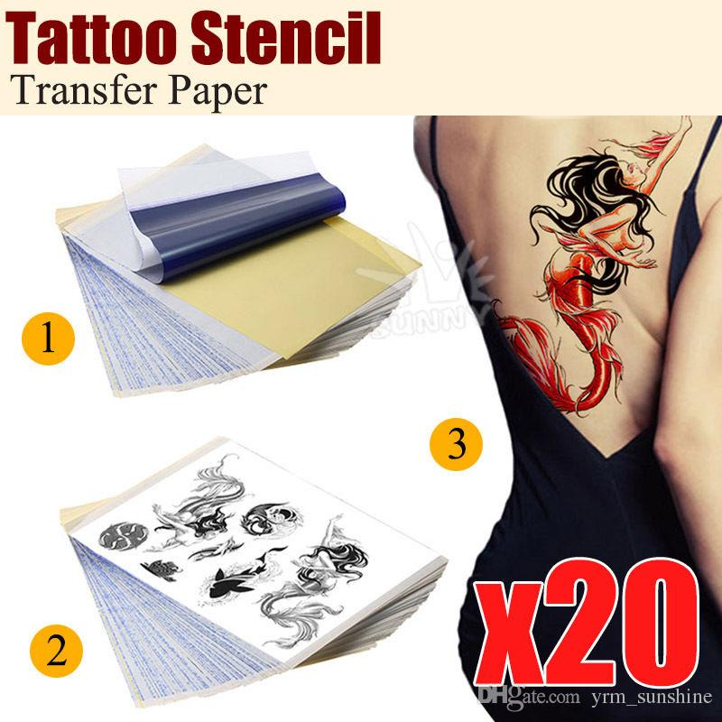 Transfer papper xpress it a transfer paper white pack for Temporary tattoo tracing paper