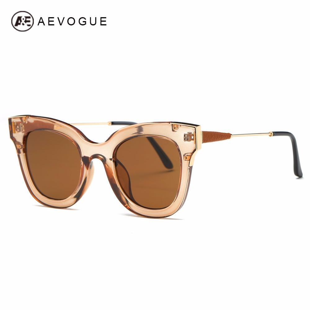 Wholesale AEVOGUE Sunglasses Women Brand Designer Vintage Cat Eye ...