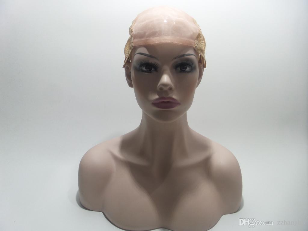 22 # Полный Парик Шнурка из шелка 5.5 * 5.5 Блондинка Естественная Волна Человеческих Девственных Волос 100% Афро-Американцев Детские Волосы 150% Плотность Berrys Парики Волос Kabell
