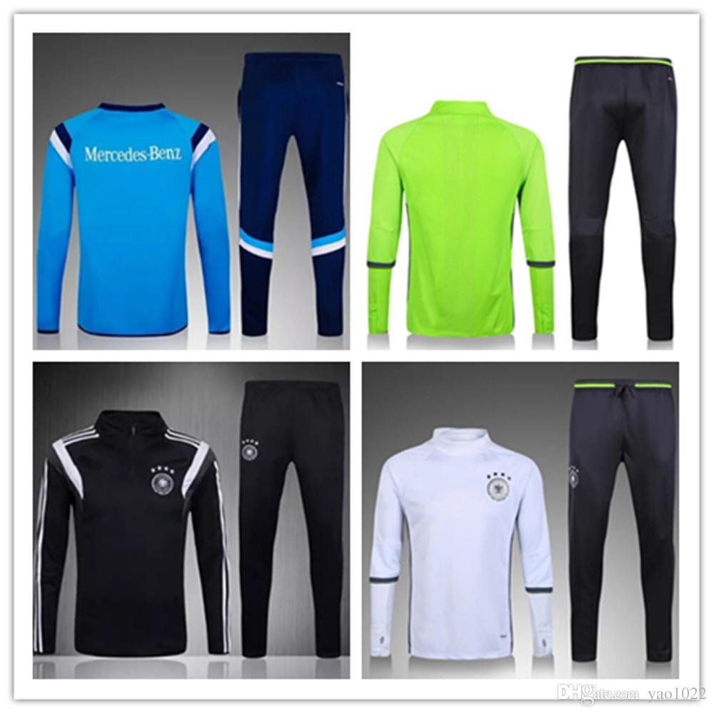 a59ebe413 ... football shirt short sleeved soccer jersey size 2016 2017 men germany  tracksuits brasil man city gal