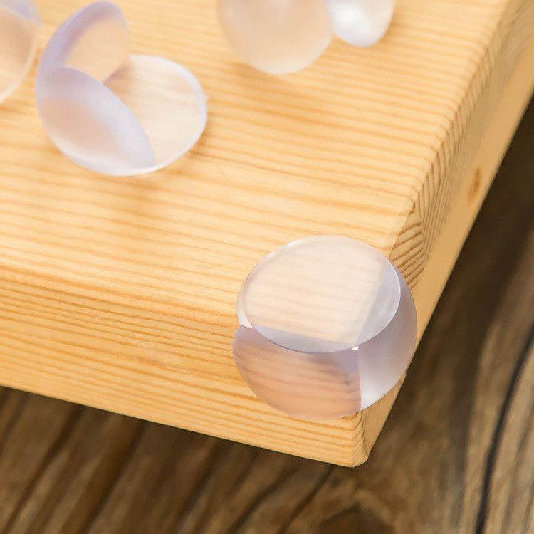 Baby Sicherheit Kinder Pflege Ball Shaped Eckenschützer Protector Guards Cover Table Antikollisionskantenkissen mit Aufkleber IB287