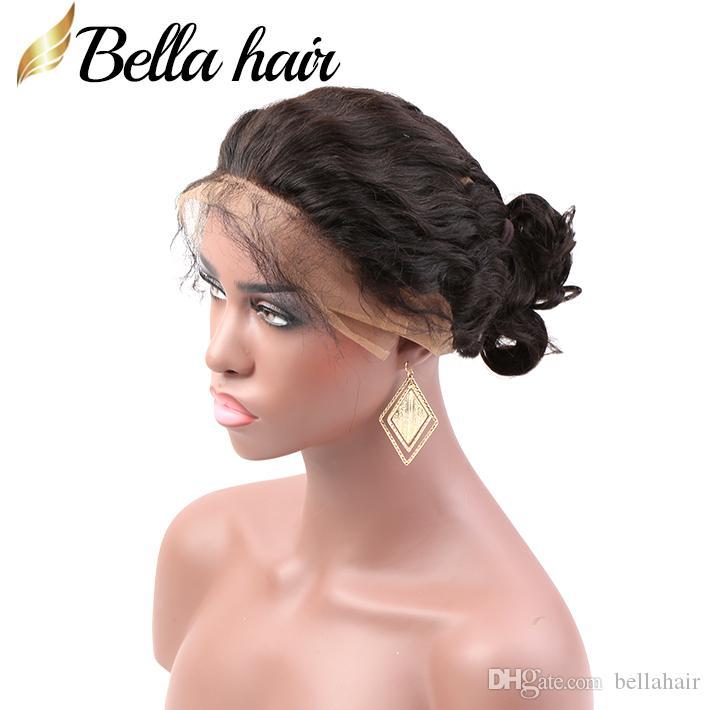 Brésilien Vierge humaine Cheveux 360 Dentelle fronteaux 22x4x2