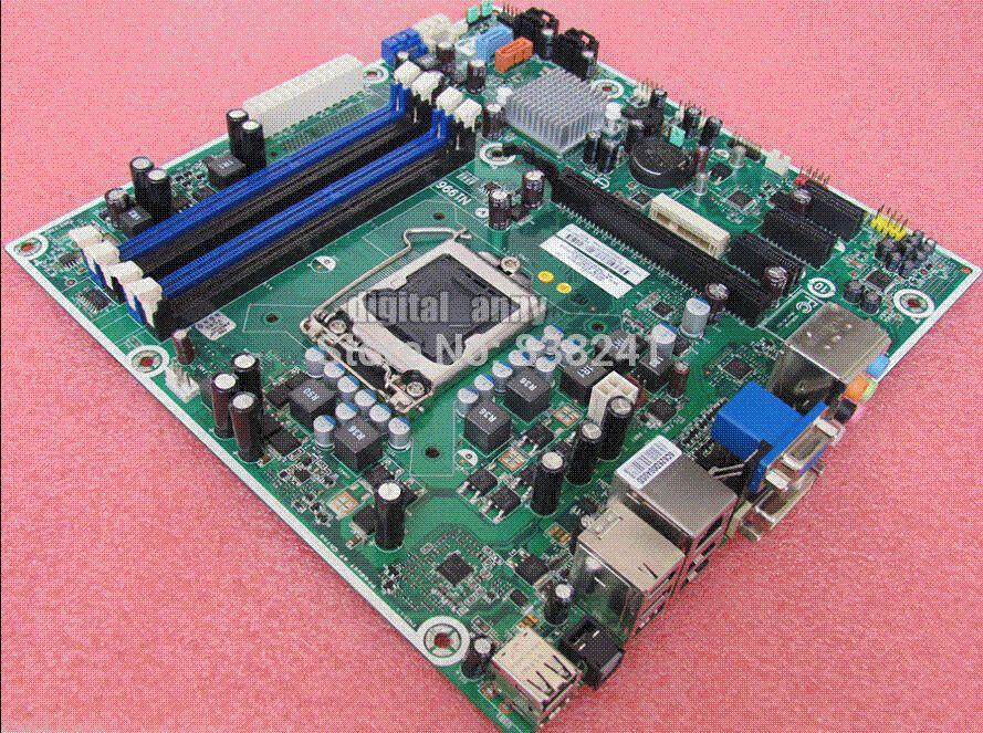 Desktop motherboard 575765-001 Iona-GL8E Iona GL8E MS-7613 VER 1 1 H57  Socket 1156 DDR3 VGA DVI Port