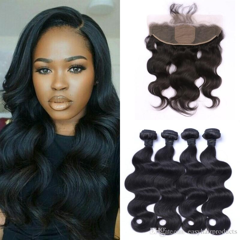 100% Human Hair Extensions Virgin Indian