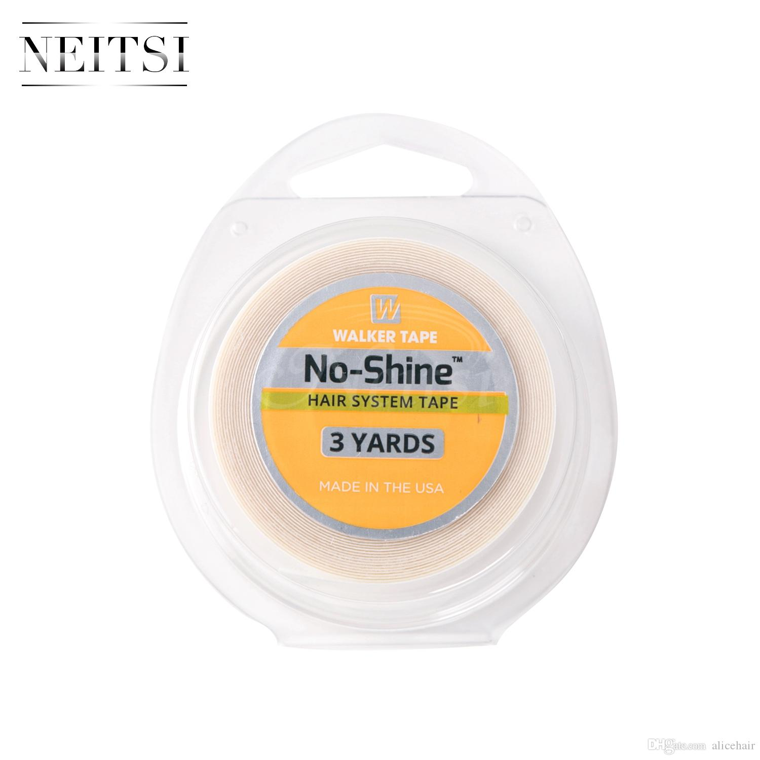 New Arrival Neitsi 1roll No Shine Usa Walker Adhesives White Tape