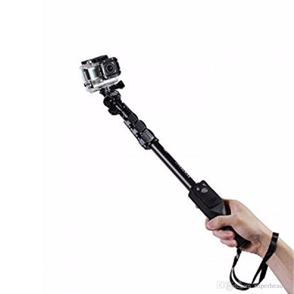 Yunteng 1288 Bluetooth Wireless allungabile selfie palmare Stick Monopiede con Zoom Sticks iPhone Samsung selfie