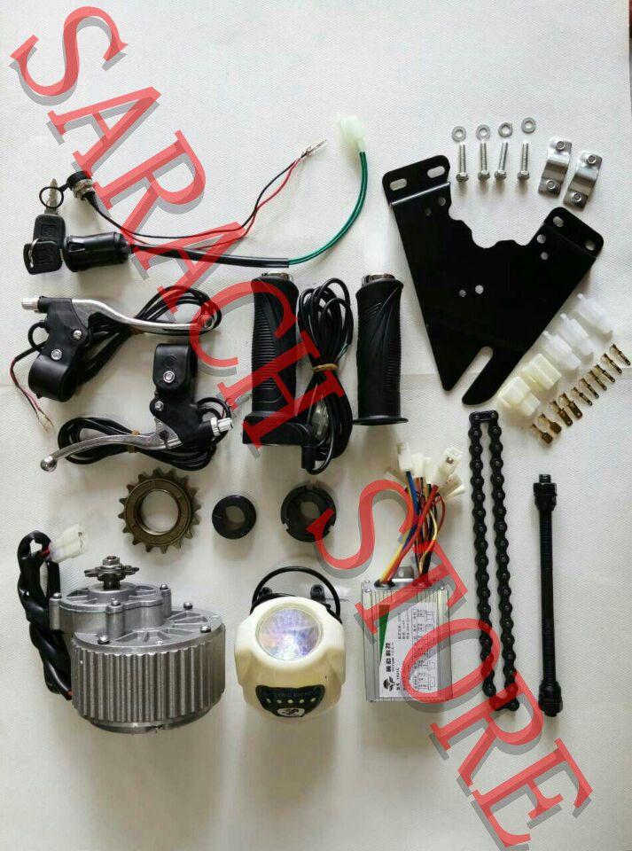 Acquista MY1018 24V 450W DIY 22 28 DC Brush Motor Motori Elettrici  Biciclette Kit Kit Di Conversione Bici Elettrica Kit Fai Da Te A  100.51  Dal Sarach1208 ... 009d5dcc3f0
