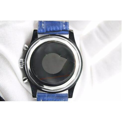 Orologio da polso da uomo automatico di alta qualità nuovo marchio NAVITIMER Ti3 blu quadrante blu orologi in pelle 1884 moda maschile orologio di lusso shopping gratuito