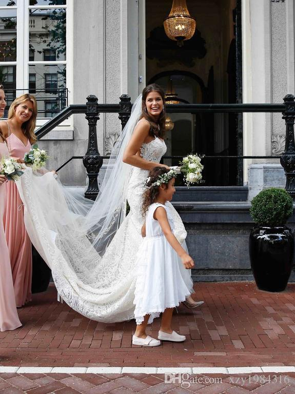 Cheap Mermaid Boho Wedding Dresses Bridal Gowns Sweetheart Lace Appliques Open Backless Bridal Dress New Arrival Sexy Beach Wedding Gowns
