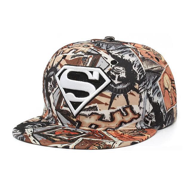 Snapback Hats For Men Superman Graffiti Embroidery Sports Letter ... 27252dee9e3