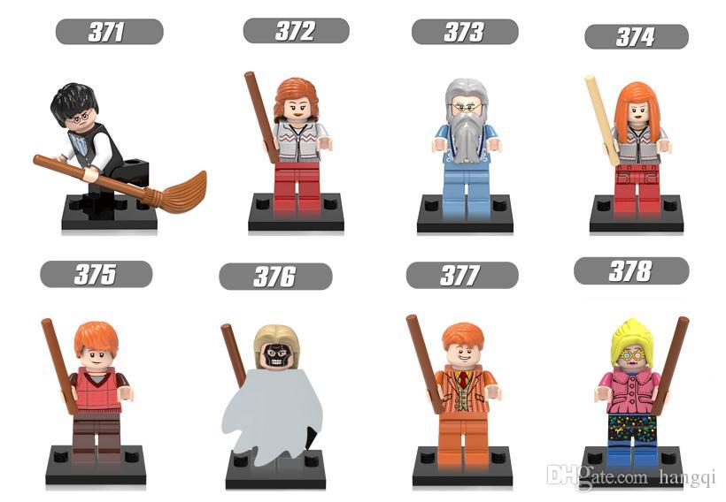 Arkadaşlar Hermione Jean Granger Ron Weasley Efendisi Voldemort Ginny Ölüm Yiyen mini yapı taşları x129 rakamlar