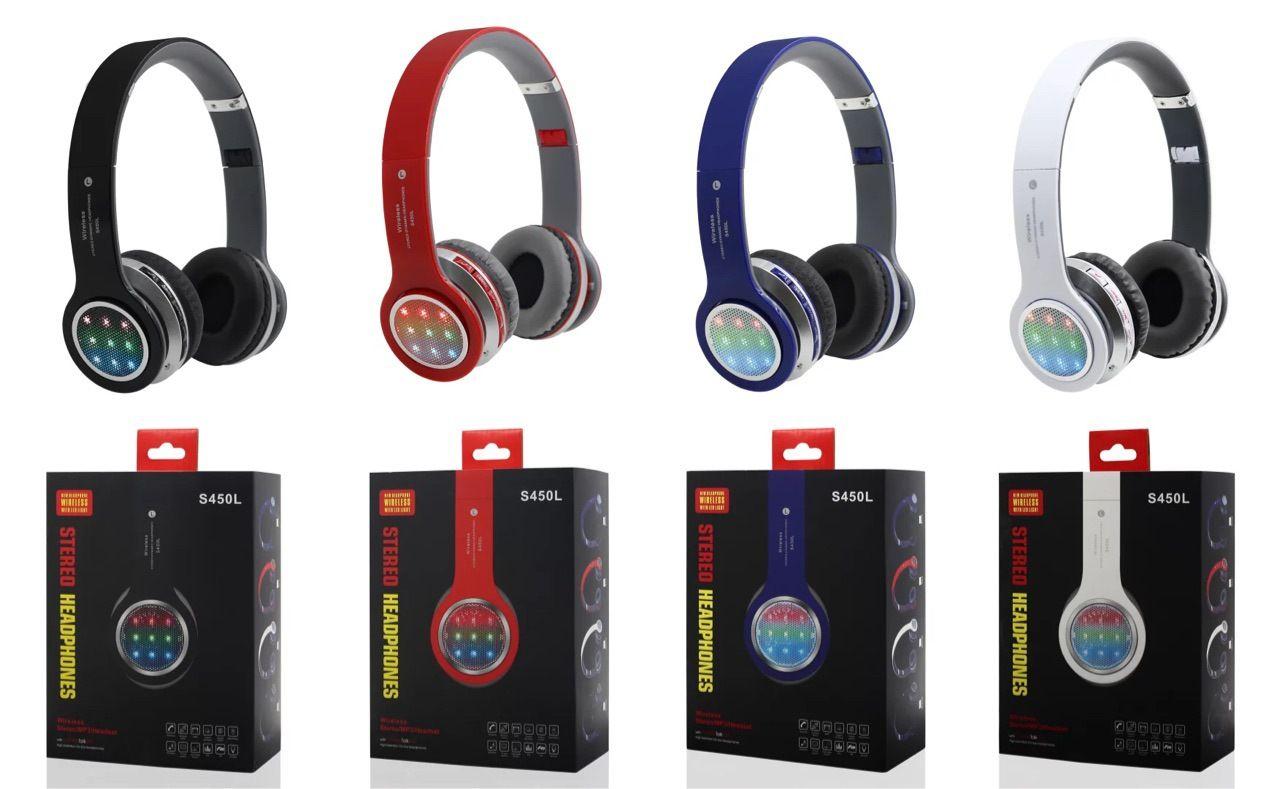 da480c31186 Accesorio Para Celulares Súper Bass Deportes Auriculares Bluetooth  Inalámbricos S450 Diadema Auriculares Auriculares Para IPhone 6s S7 Edge  Tablet PC MP3 FM ...