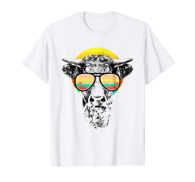 c57e5b0105e9 Vintage Retro Style Cow Summer T Shirt Hot Weather Basic Models Round Neck  Teenage Pop Top Tee Print T Shirts Men Crazy Tee Shirts Online Cool  Sweatshirts ...