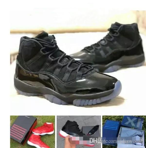 1c6426872a08fc 2018 Prom Night 11 Men Basketball Shoes Space Jam Bred Concord Gym ...