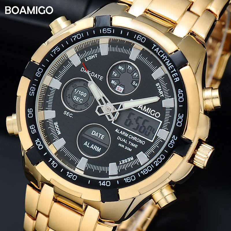 dieselle top leather strap sports watches fashion shopping brand analog amigo casual boamigo date luxury gold genuine military men wristwatches quartz