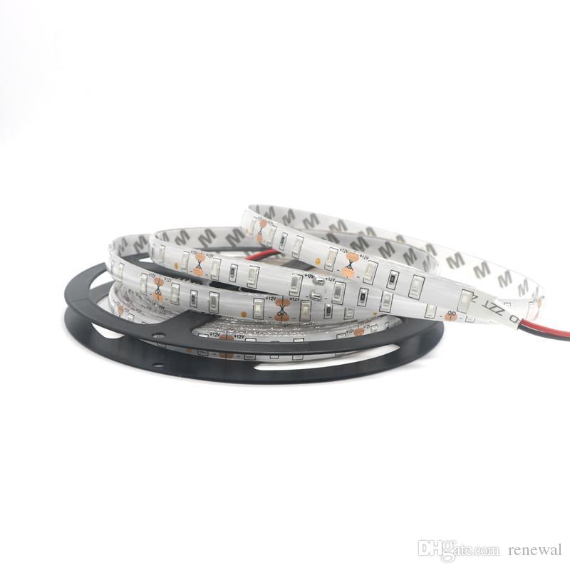 DHL LED Strip Light 12V SMD3528 5050 5630 300Led Strip Nastro impermeabile la striscia flessibile Home Bar Decor Lampada LED 5m / rotolo RGB