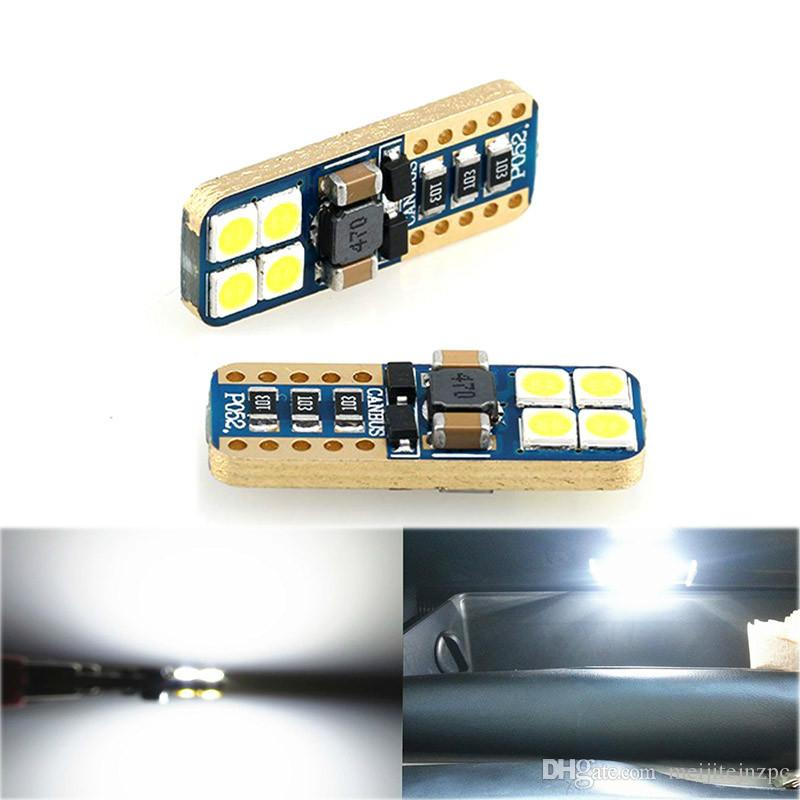 Faible Largeur Consommation D'énergie Liseuse Ampoule Température Led Brancher Lumière D'immatriculation De Haute Super T10 Voiture Plaque ulKc3FTJ1