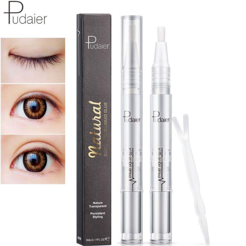 Makeup double Eyelid gel glue adhesive cream Big Eyes Eyelid Stripe  Decoration Invisible Strong Adhesive Double Eye Tape Tools free shipping