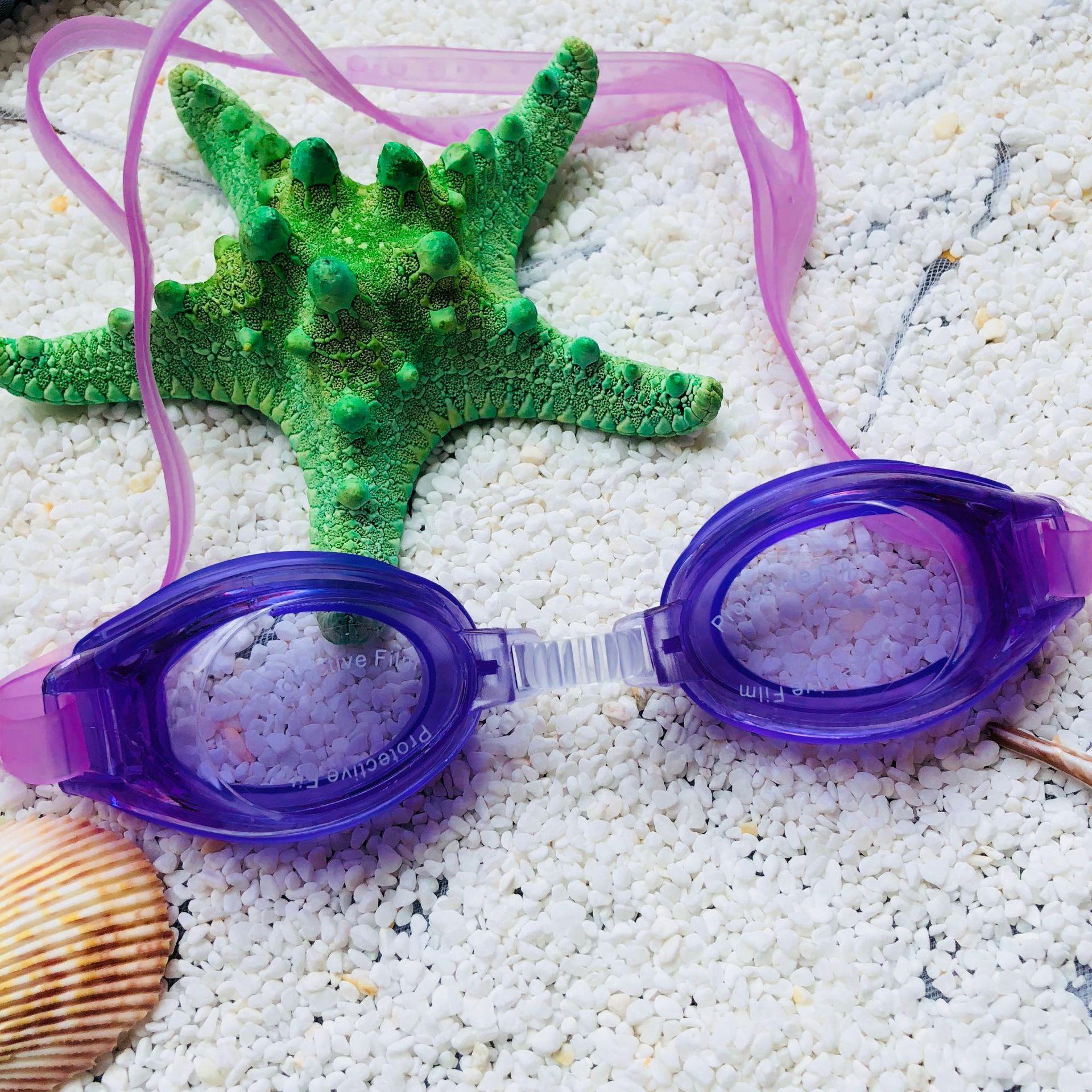 Outdoor Water Sports Swimming Glasses Goggles Underwater Diving Eyeglasses Eyewear Swimwear For Men Women Children w/ Clear Case