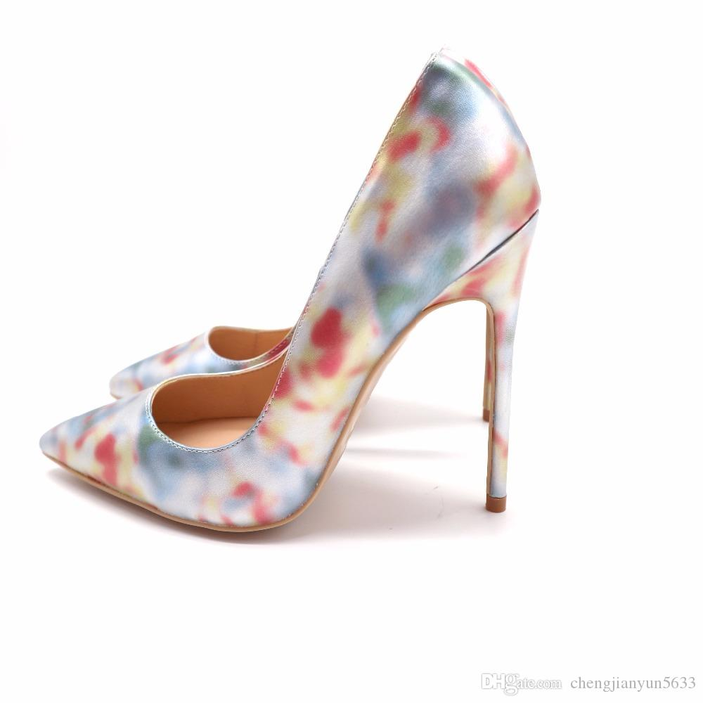 Women Lady 2018 Classic Gold Fish Leather Poined Toes Wedding Heels  Stiletto High Heels Shoes Pumps 12cm 10cm 8c M Loafers For Women Deck Shoes  From ... 899755451c78