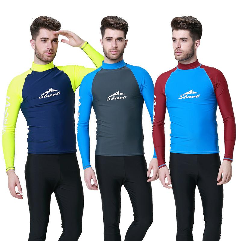 d849f997432933 2019 C69 Sunscreen Long Sleeved Swimsuit Jellyfish Clothing Surfing Suit  Snorkeling / Diving Suits Adult Male Coat Sun Protection Wetsuit From  Qingchunxu, ...