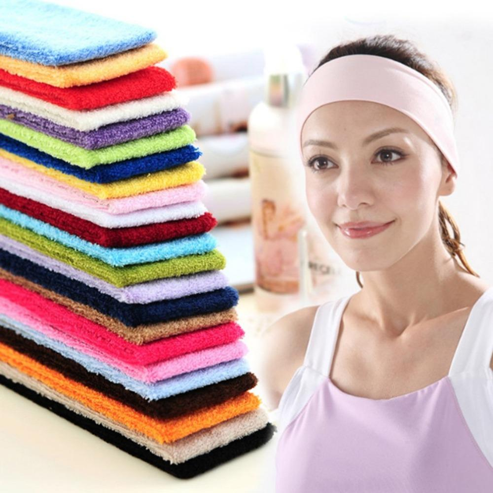 PIERYOGA Gym Workout Women Yoga Soft Cotton Stretchy Headband Sweatband  Sports Indoor Outdoor Fitness Headbands UK 2019 From Heheda5 d8797af6a1