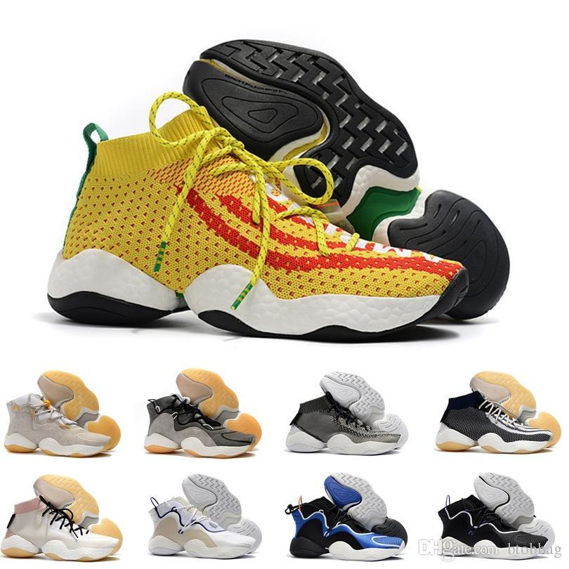 low priced 8ca1f 0b7db Acquista Crazy Byw I Socks Scarpe Da Basket Uomo Pharrell Williams Scarpe  Da Basket Pharrell X Crazy Boots BYW Con Scatola A  97.47 Dal Btobbag    DHgate.Com