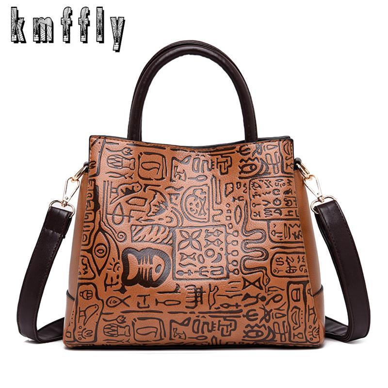 741a7127dc2 Hot Sale Women Luxurious Handbag Designer Chinese Style Ladies Big Shoulder  Bag Women Tote Female Vintage Leather Crossbody Bag Leather Purses Cheap ...