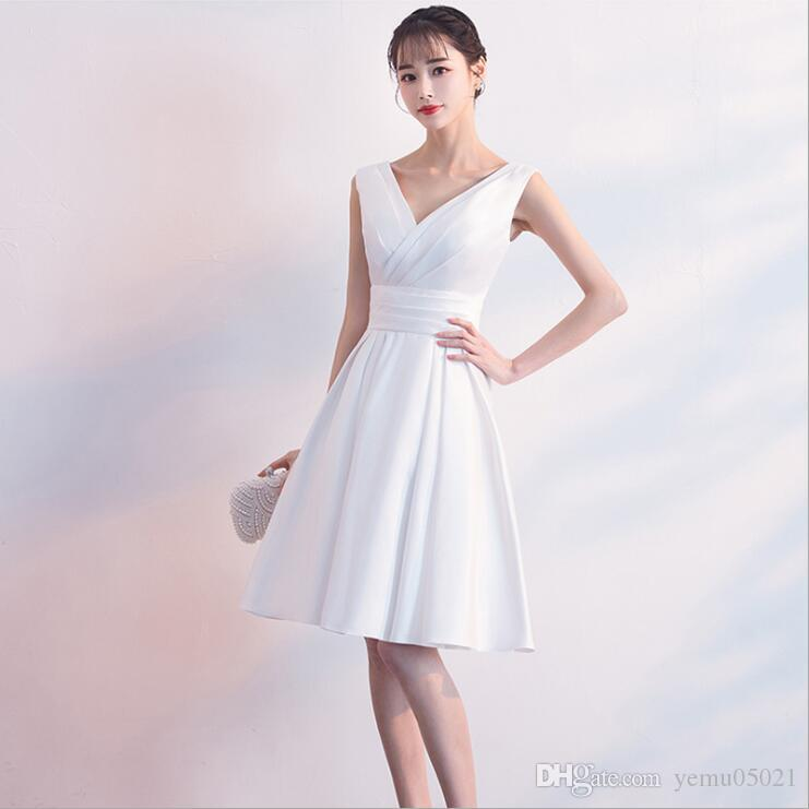 7fb1327f4d Lace Cocktail Dresses Ever Pretty Elegant V Neck High Waist Tea Length  Fashionable Affordable Party Dresses For Women White Gowns Cheap Sexy  Dresses From ...