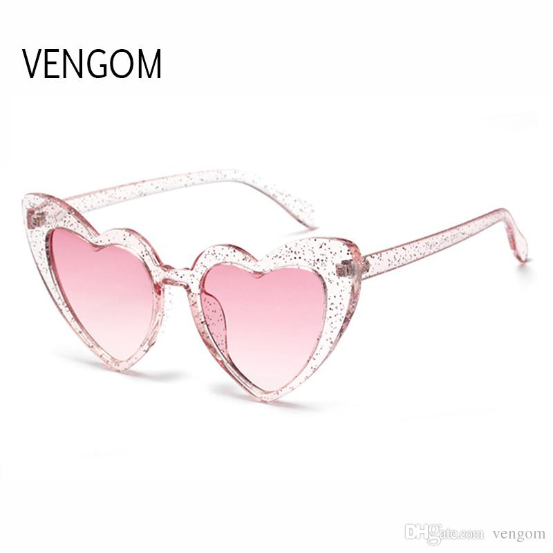 8044723a105ec Cute Oversized Heart Shape Sunglasses Women 2018 Fashion Brand Big Love  Heart Red Sun Glasses For Female Shades UV400 Sunglasses At Night Lyrics  Glasses For ...