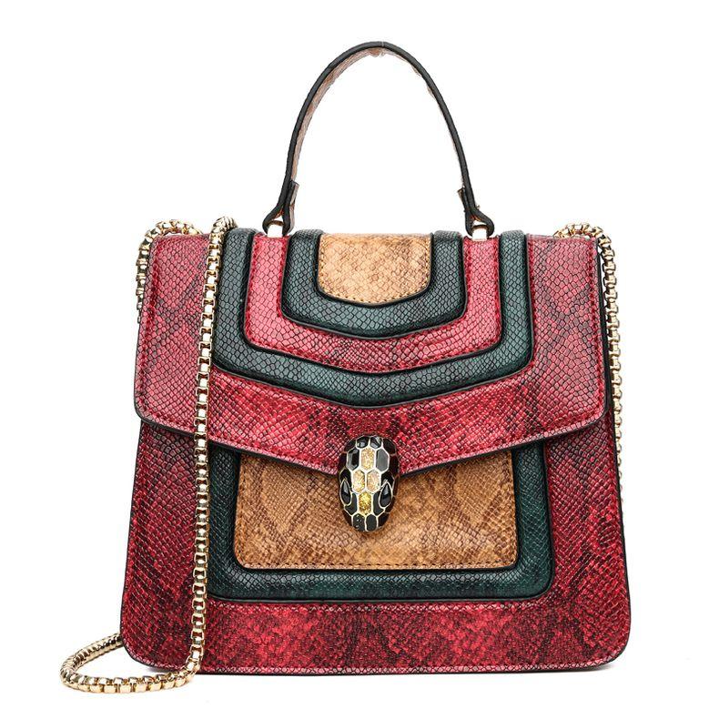 abb83c0bbd1f0 heißer Verkauf billige Mode Niete earopean amerikanische Frau Tasche famle  Designer Handtasche Schulter frei Schiff