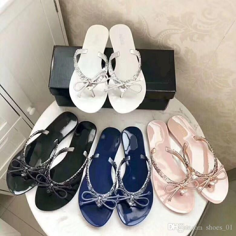 453e68168bda High Quality 2018 Summer New Fashion Shoes With Five Star Jelly Shoes With  Four Colors Of LOGO4