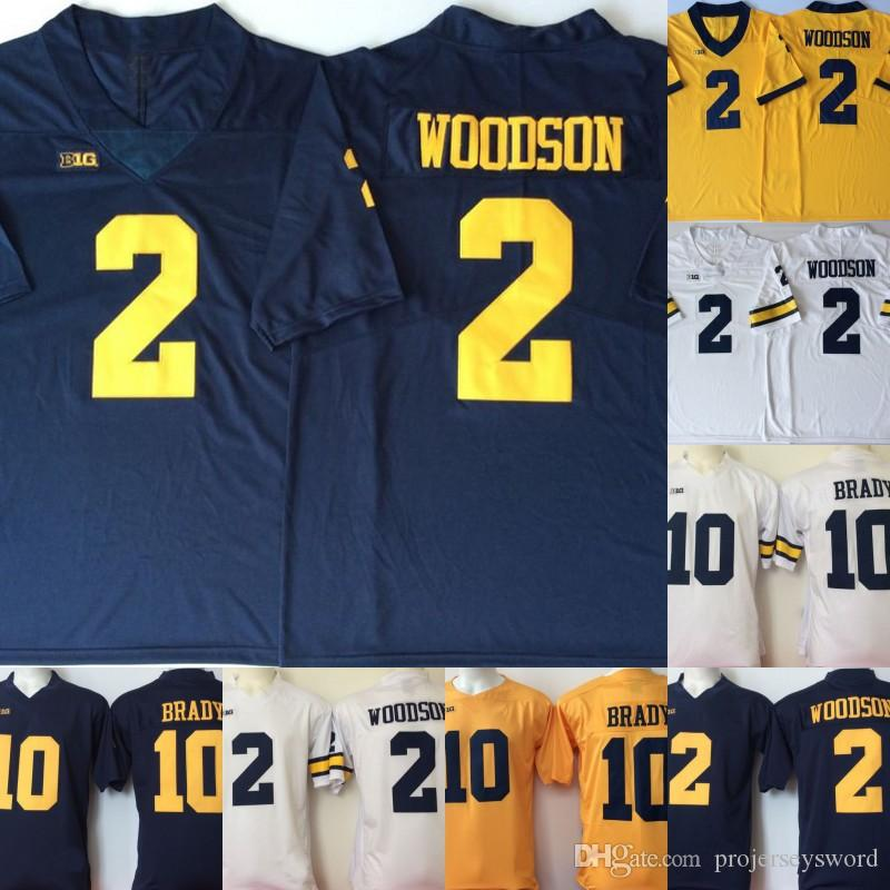 purchase cheap 46ccd 6097d Michigan Wolverines Jersey 10 Dylan McCaffrey Devin Bush 2 Shea Patterson  Carlo Kemp Brady Woodson College Football Jerseys Fast Shipping