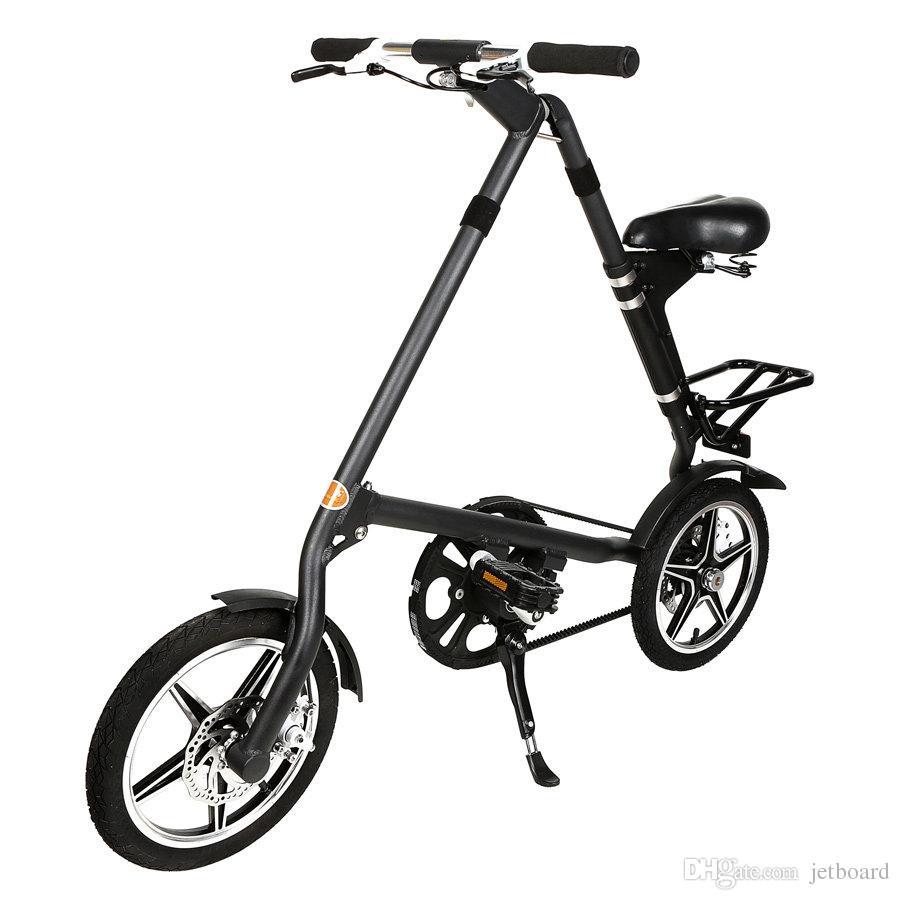 Bici Pieghevole In Alluminio.Bicicletta Pieghevole Mini Bicicletta Da 16 Pollici Volante Telaio In Lega Di Alluminio Piu Piccola Peerless Mini Da 16 Pollici Pieghevole In