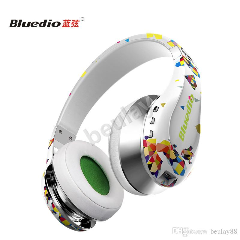 88de187ffdb Bluedio AAir Twistable Headset Stereo Wireless Bluetooth4.1 Comfortable Ear  Cups Foldable And Adjustable HeadbandWhite Wireless Earphones Headsets From  ...