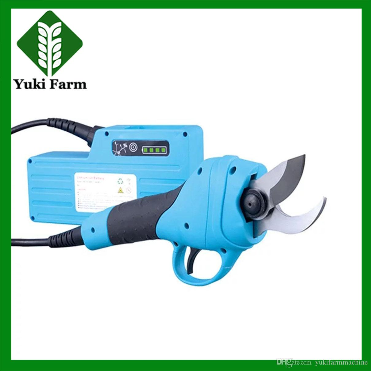 Electric pruner fruit tree scissors electric pruning shear for Hand held garden shears