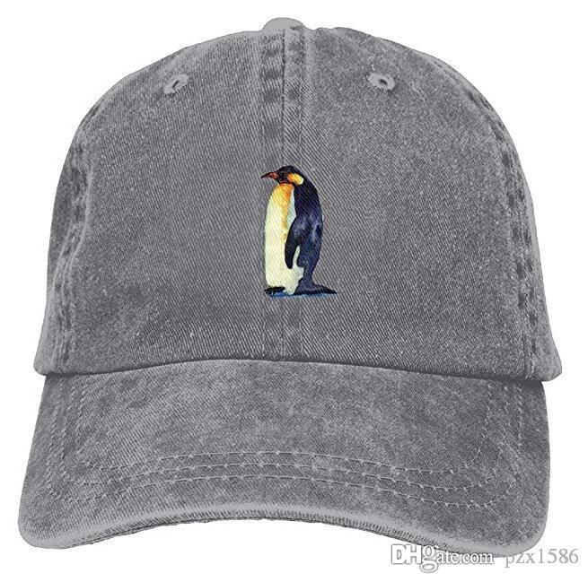 Penguin Animal Baseball Caps Unique Timeless Polo Style Hat For Teen Boys  Kangol Baseball Caps From Pzx1586 487db2e3294