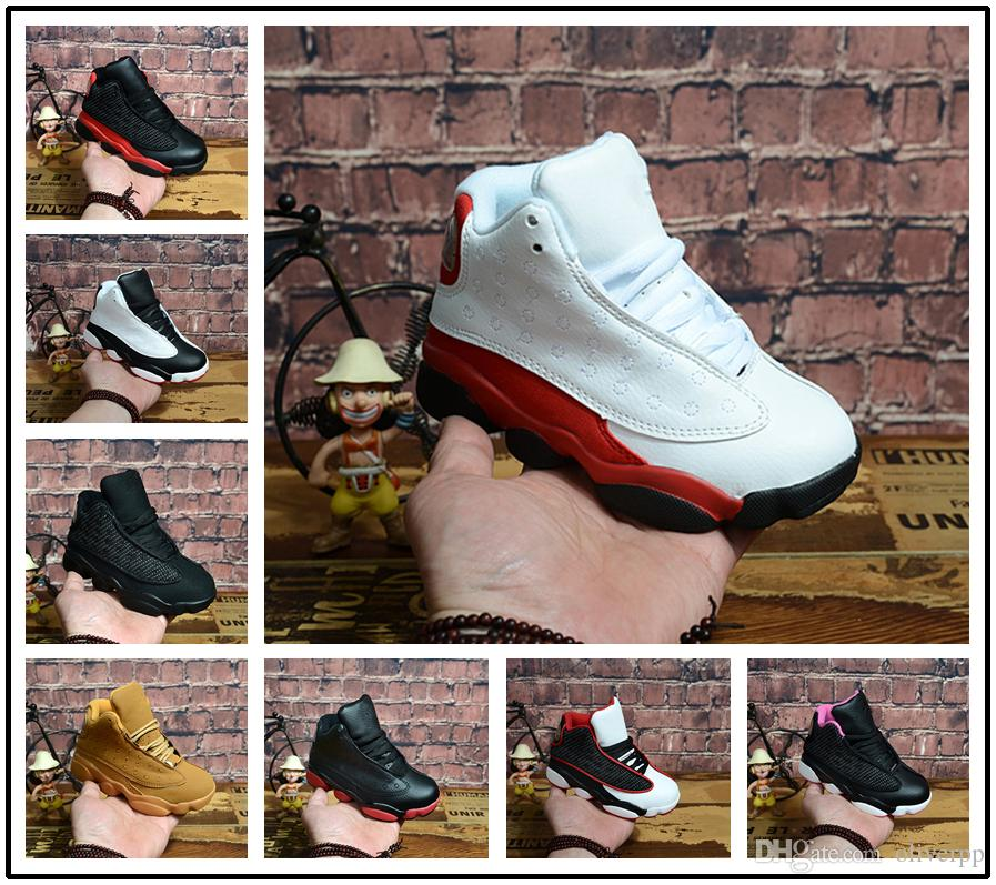 b959deeb6444 Compre Nike Air Jordan Aj13 2018 Nuevo 13 Niños Zapatos Niños J13s  Zapatillas De Baloncesto Zapatos Deportivos De Alta Calidad Zapatillas De Deporte  Para ...