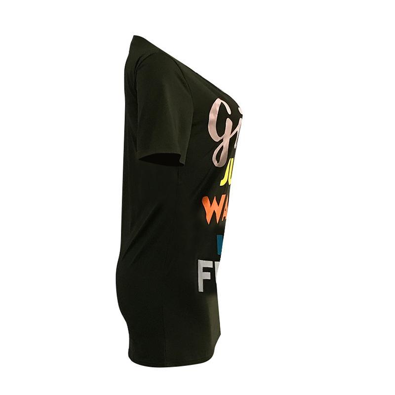 Трек топы пуловер женщины блузки рубашки туника рубашки топы Tee мода печати Moto девушки мода Blusas лето WS6258Z