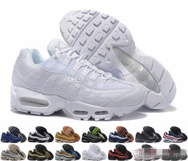 f8af31f4bf 2018 Brand New Ultra 20th Anniversary 95 OG Cheap Men Running Shoes Sports  Cheap 95s Mens Trainers Tennis Sneakers Kids Running Shoes Black Running  Shoes ...